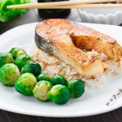 Healthy Salmon Bowl